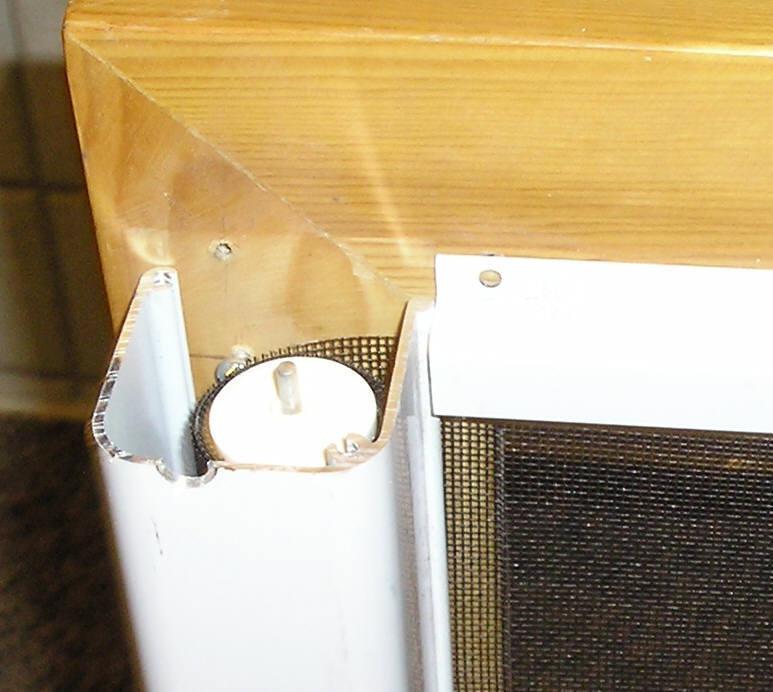 Retractable screen doors for Inside mount retractable screen door