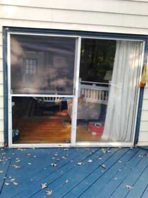 Sliding Glass Door Screen Protector Sliding Screen Door Protector