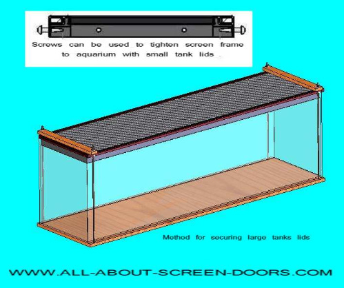 Aquarium Screens Heres Help If You Need To Build A Lid
