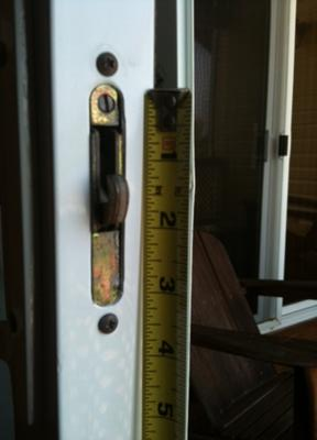 Broken Patio Slider Latches