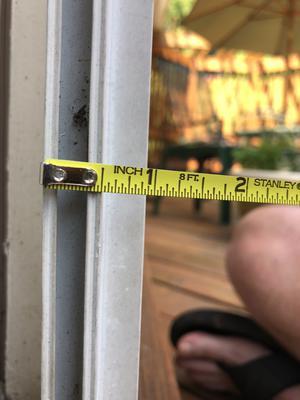 broken screen door roller for french door