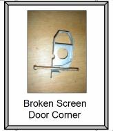 Sliding Door rollers and corners