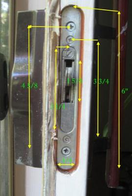 Patio door locks how to replace your handle and lockset can these patio panel locks be keyed planetlyrics Images