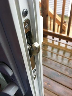 Sliding Glass Door Locks Can Be Replaced Heres How