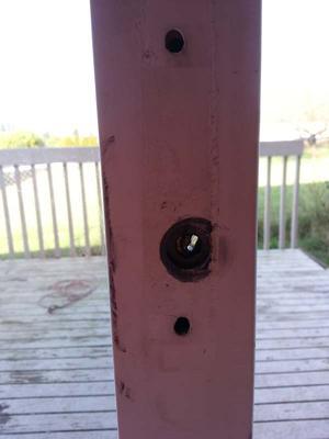 lock, position 1
