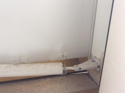 Guardian Storm Door Crumbling