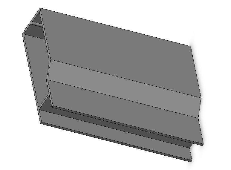 extruded screen frame