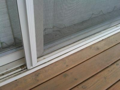 Guardian screen doors how to repair them for Sliding screen door frame