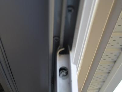 Screen door top track