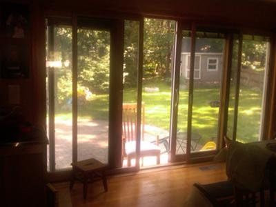 I Have Pella Screen Door And Patio Door Assembly. It Is About 140 Inches  Wide (4 35 Inch Sections) By 78 Inches Tall. There Are 2 Sliding ...
