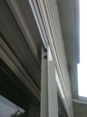 Vinyl Screen Door Top Track