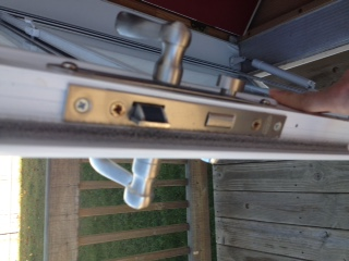 Larson Storm Door Will Not Latch Shut