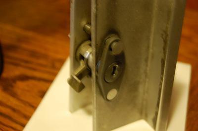 Old Sliding Glass Door Lock