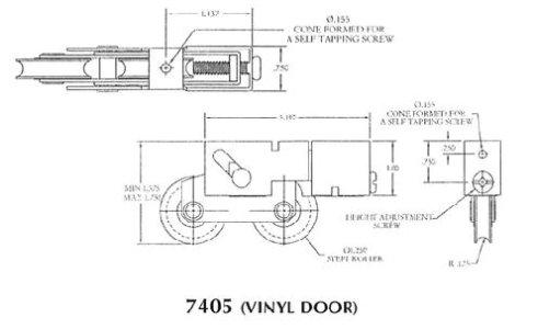 Patio roller - 7405