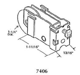 Patio roller - 7406