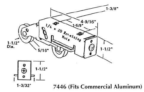 Patio roller - 7446