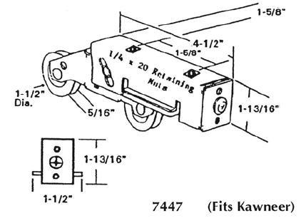 Patio roller - 7447