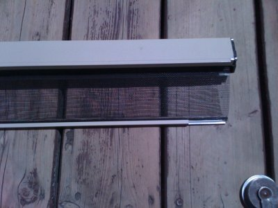 Roll away screen door for Roll up insect screens for windows