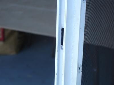 Screen Door Locks And Latches