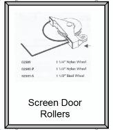 Patio door handles