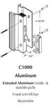 C1000 Surface Mount Patio Door Handle