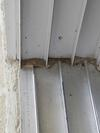 Bottom screen door track