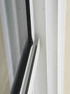 Top fin 5/8 inch from patio door