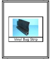 Vinyl bug strip