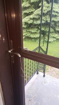 Window Won T Stay Up On Retractable Screen Storm Door