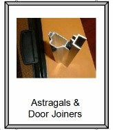 Sliding door Astragal