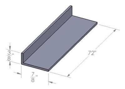 Aluminum bottom track dimensions