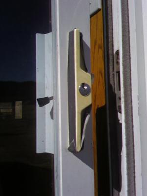 RV Sliding Patio Door Lock