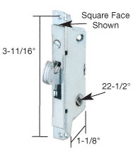 patio door mortise lock E-2118