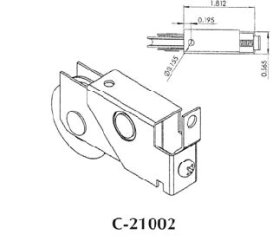 Patio roller - 21002