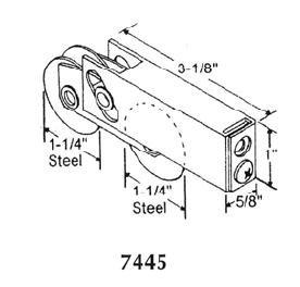 Patio roller - 7445