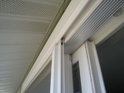 screen door in top channel